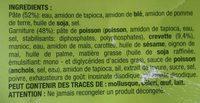 Ravioli à la Vapeur aux Crevettes - Ingredients
