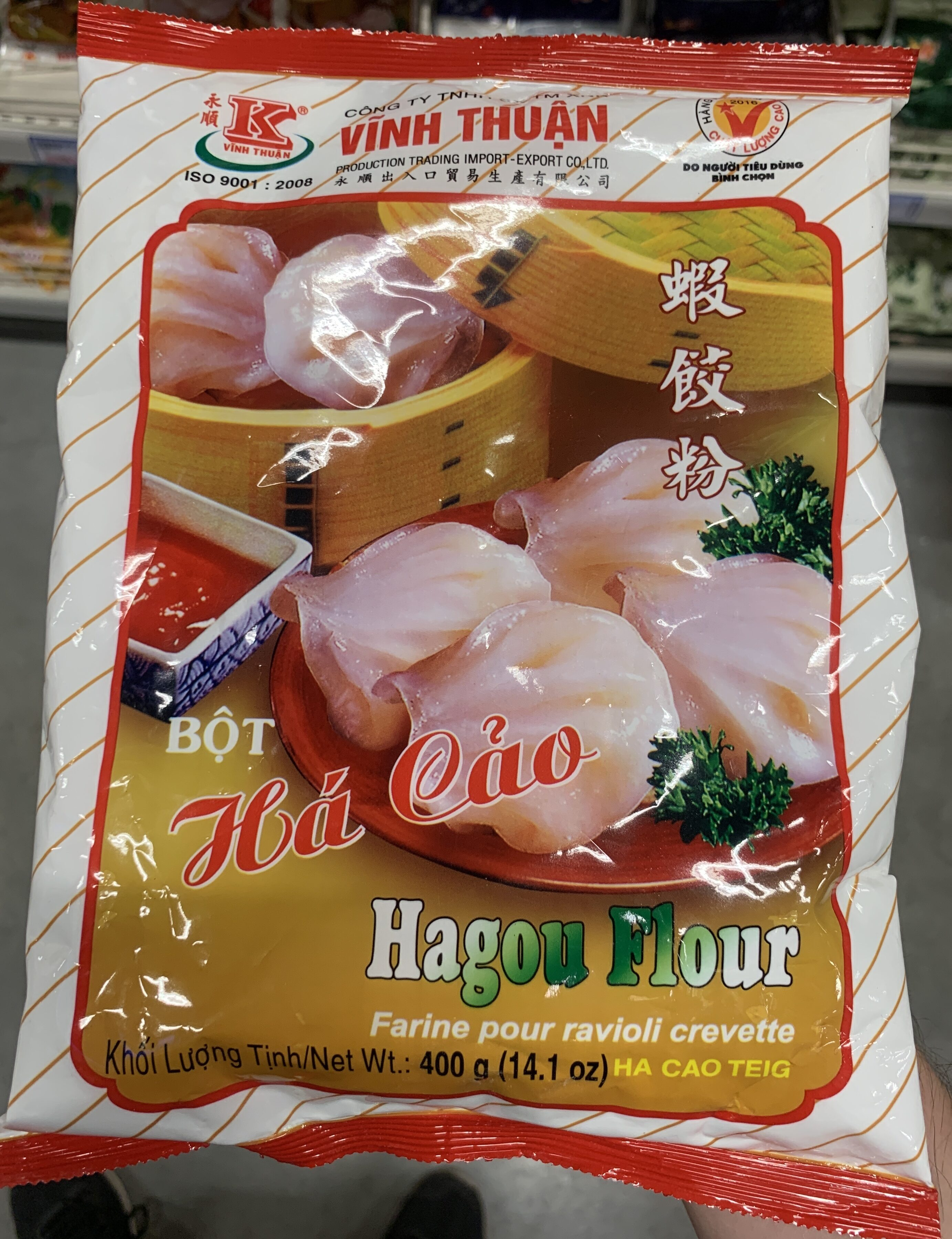 Farine pour ravioli crevette - Product - fr