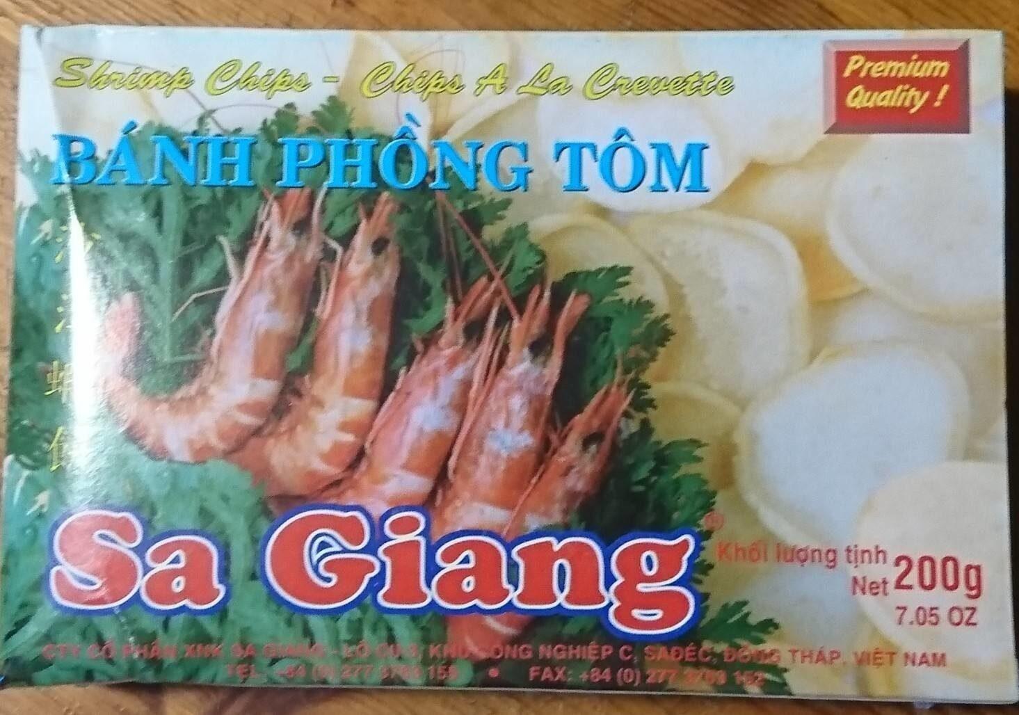 Crevettes chinoises - Información nutricional - fr