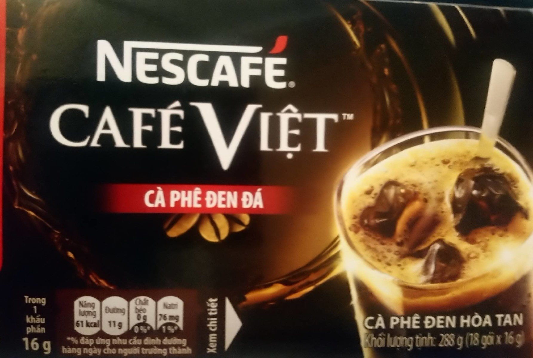 Nescafé Viet - Sản phẩm - vi