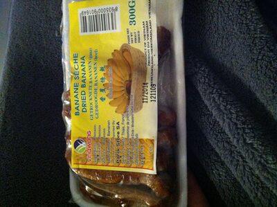 Banane sèche - Ingredients - fr