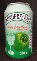 eau de coco avec pulpe - Product
