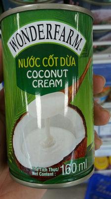 coconut cream - Sản phẩm - en