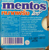 Mentos Chewing Gum Ice Peppermint 11.44G - Produit