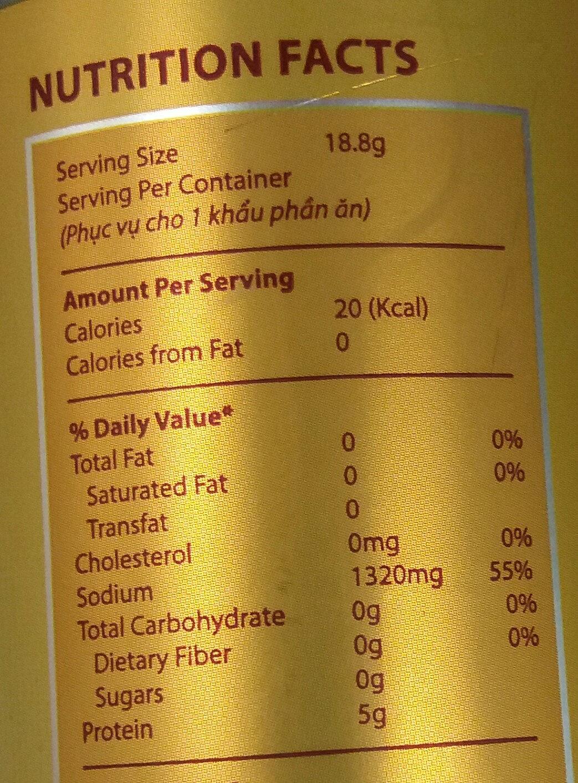 - Giá trị dinh dưỡng - vi
