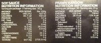 Prawn Hargow - Family Size - Nutrition facts - en