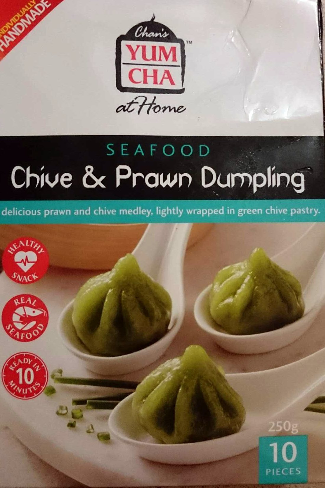 Seafood Chive and Prawn Dumpling - Product