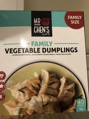 Family vegetable dumplings - Product - en