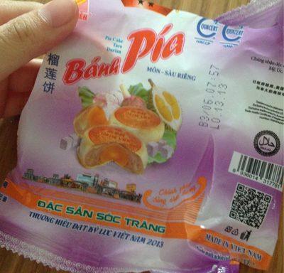 Gâteau au taro et au durian - Product