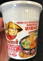 Nouilles instantanées saveur boeuf - Produit - fr