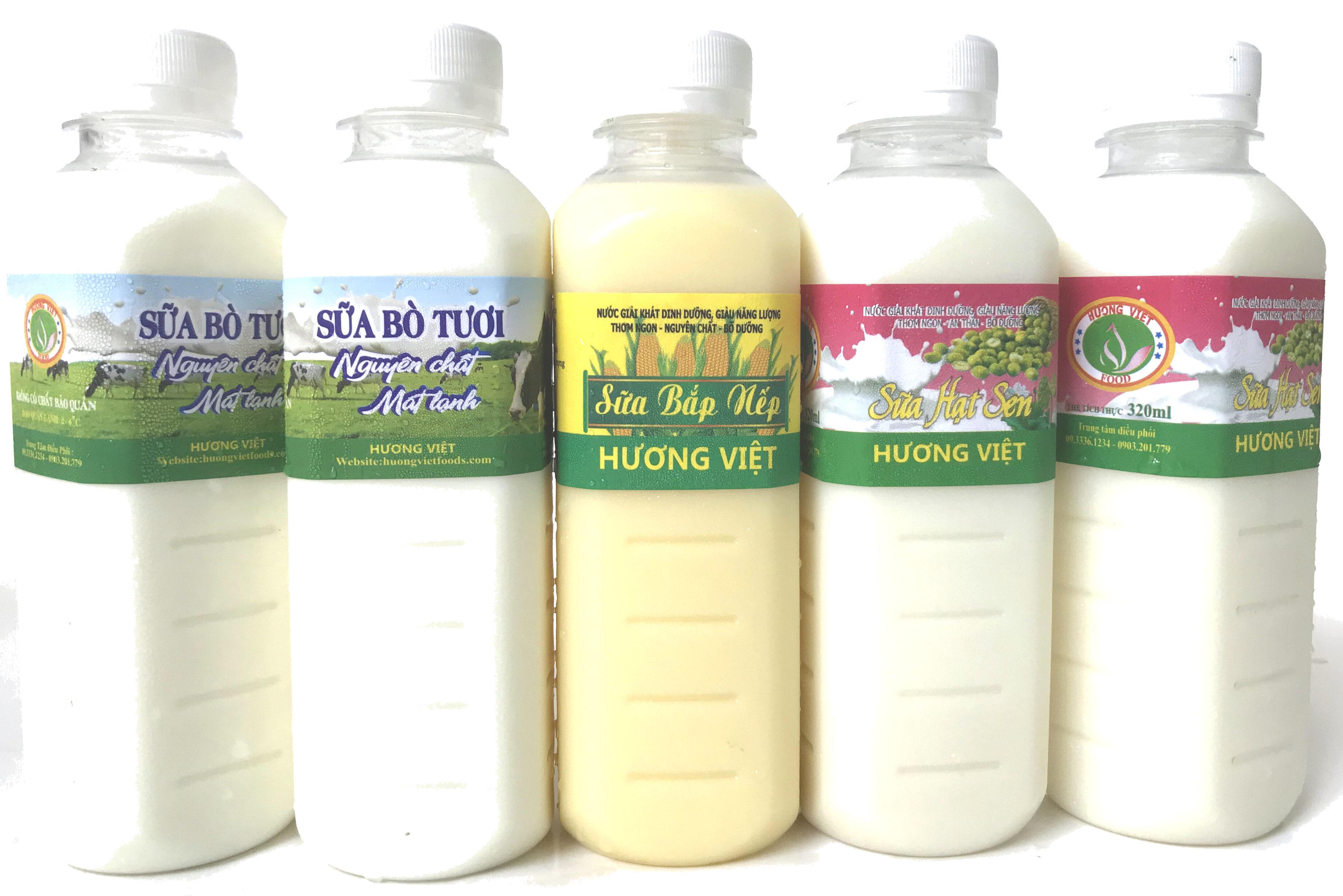 Sữa Bắp Nếp Hương Việt - Recycling instructions and/or packaging information - vi