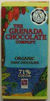 Organic Dark Chocolate 71% - Product