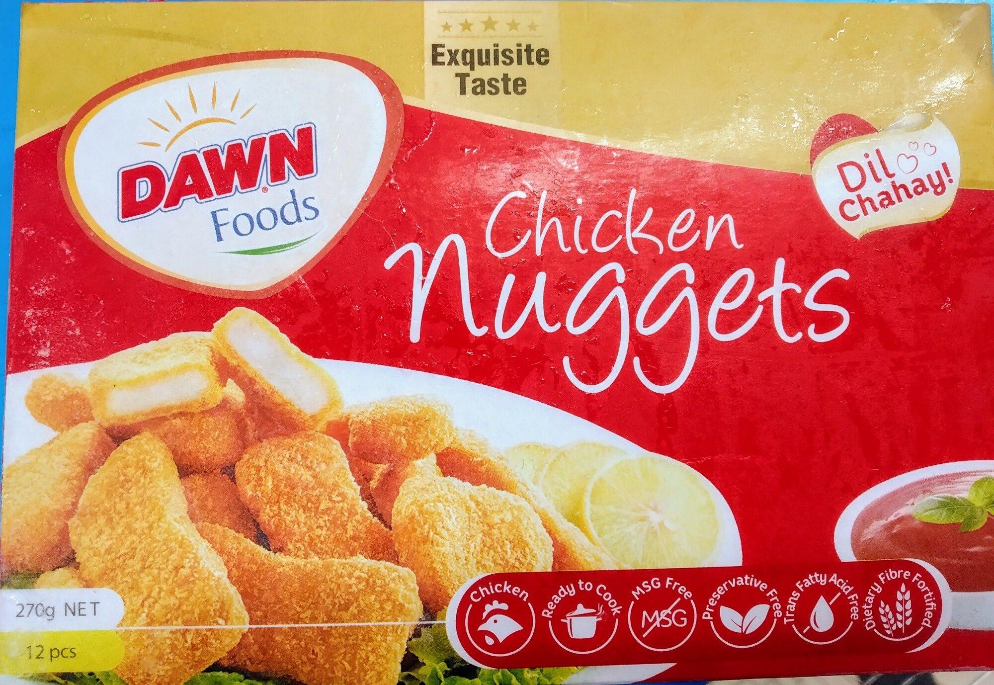 chicken nuggets - Produkt - en