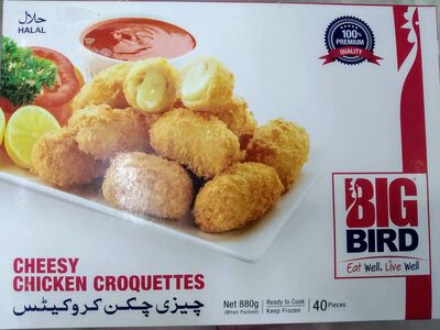 Cheesy Chicken Croquettes - Product - en