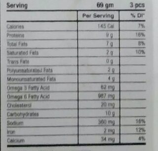 Chicken Chips - Nutrition facts - en