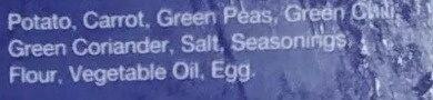 Vegetable Samosa - Ingredients