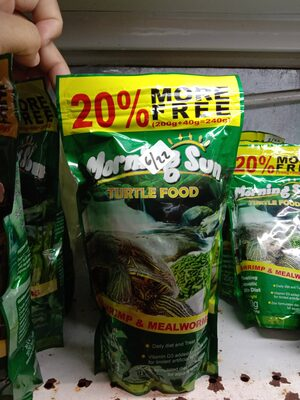 Morning Sun Turtle Food - Produk - id