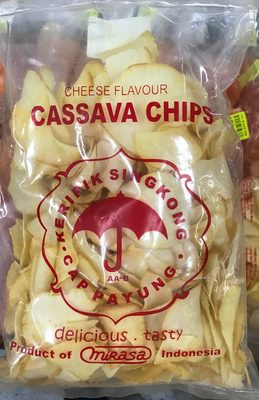 Cheese flavour Cassava Chips - Product
