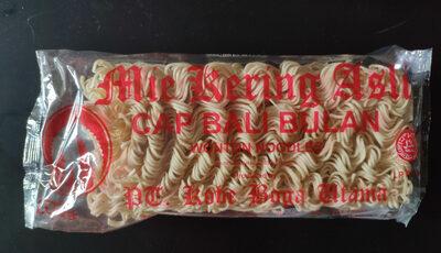 Mie Kering Asli Wonton Noodles - Producto - es