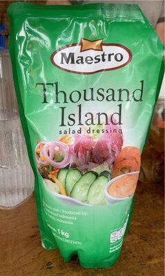 Thousand island salad dressing - Produk - fr