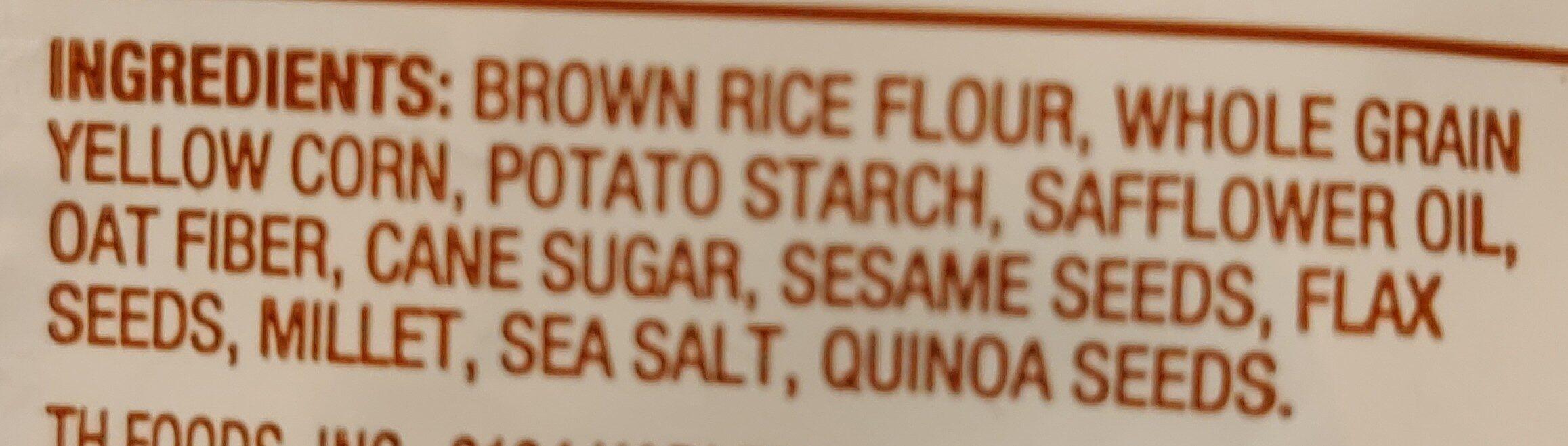 Multi-Grain, Crunchmaster - Ingredients - en