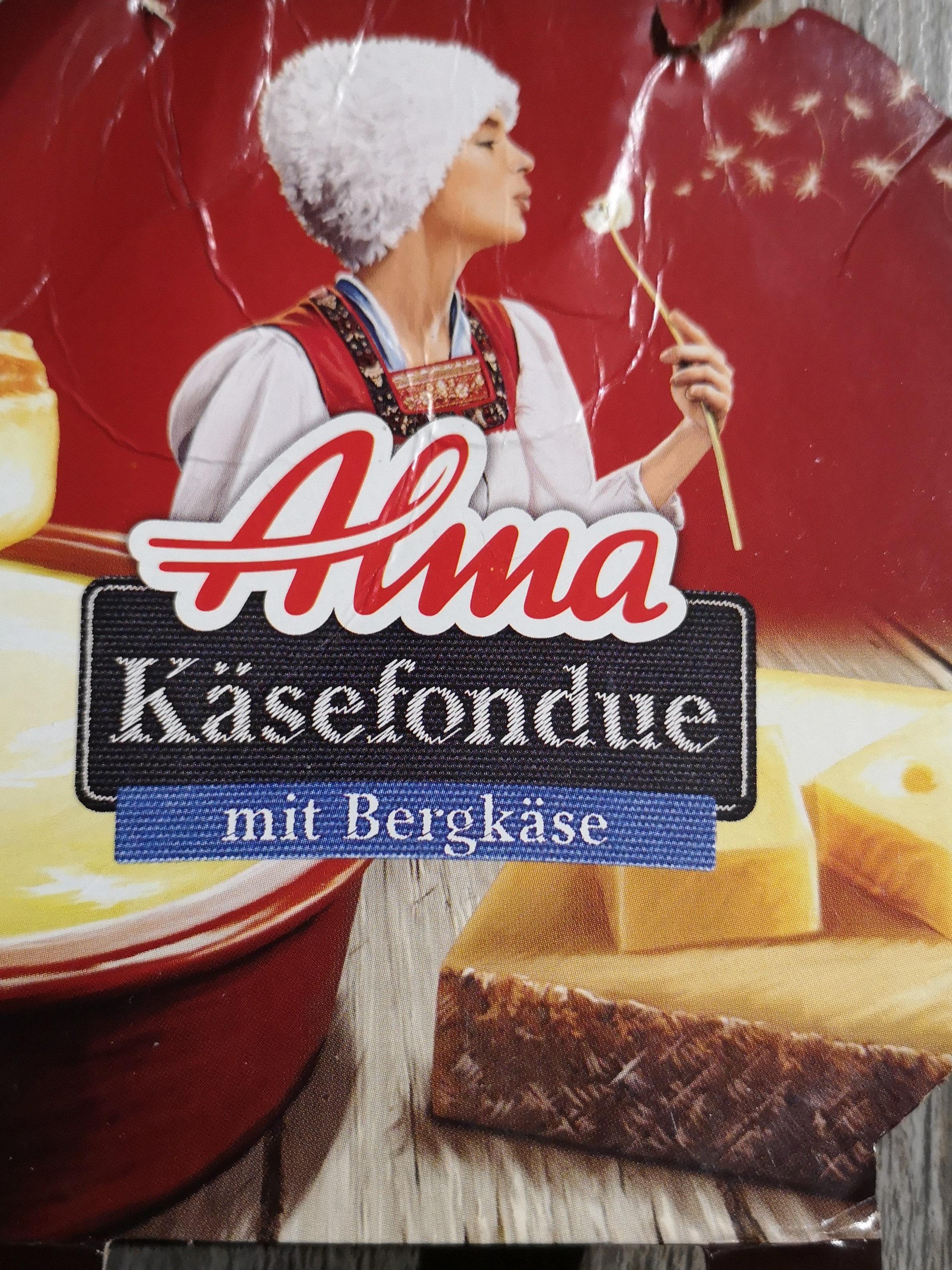 Alma Käsefondue mit Bergkäse - Product