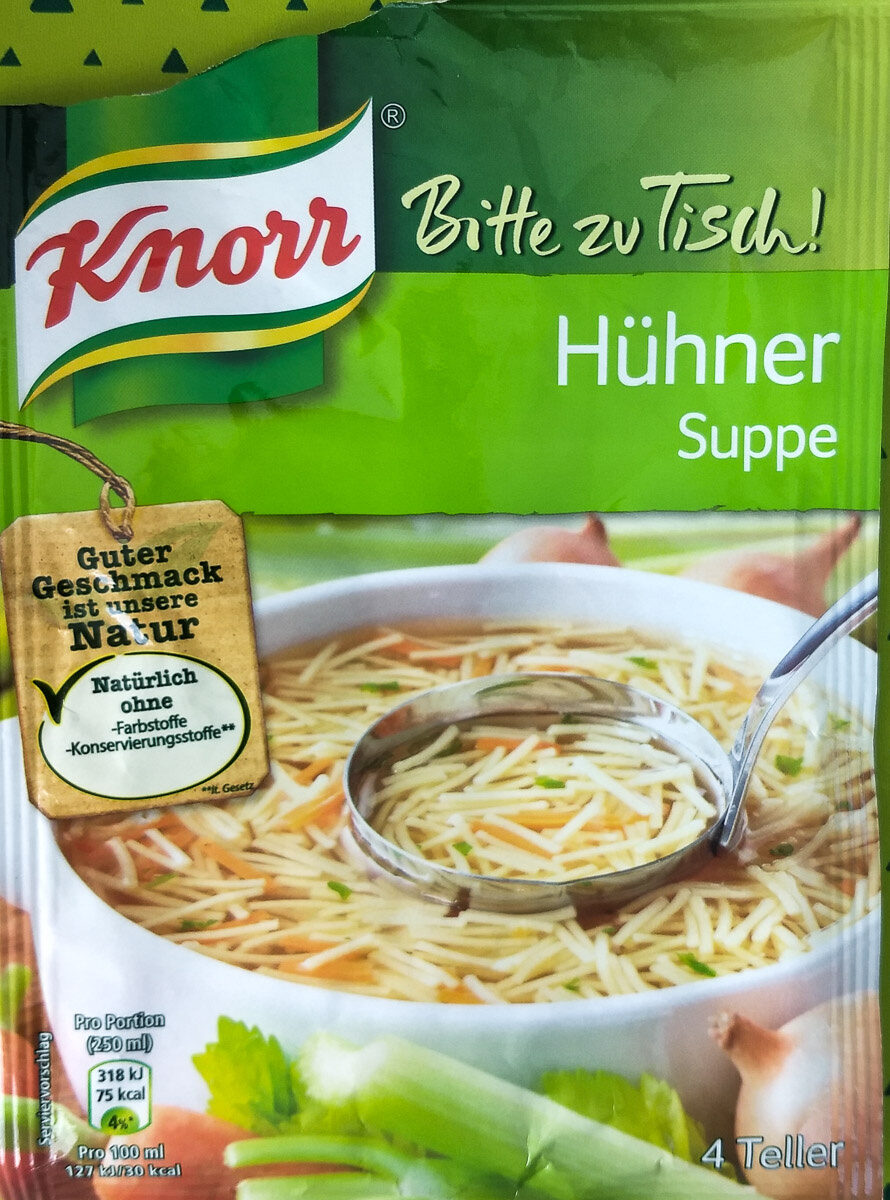 Hühner Suppe - Product