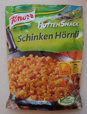 Hüttensnack Schinken Hörnli - Prodotto - de