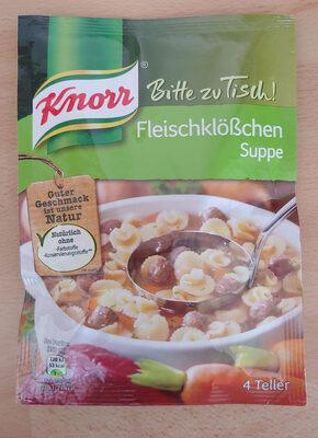 Fleischklößchensuppe - Product - de