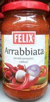 Arrabbiata paradicsomszósz, chilivel - Produit