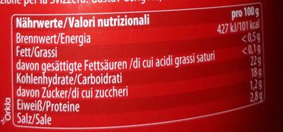 Felix Ketchup normal gross - Nutrition facts - de