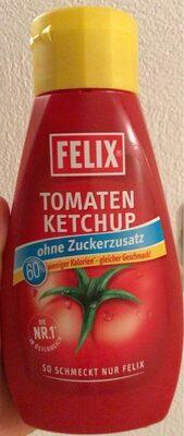 Tomaten Ketchup ohne Zuckerzusatz - Product - fr