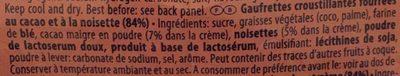 Manner Kakao-haselnusscreme T & Ouml;rtchen Original Manner T & Ouml;rtchen Aus Wien Mit Kakao-haselnusscreme. - Ingredients
