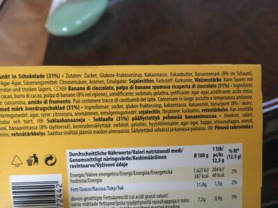 Original schoko-bananen - Ingredients