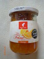 Die Feine - naturrein - Orange mit köstlichen Fruchtstücken - Product