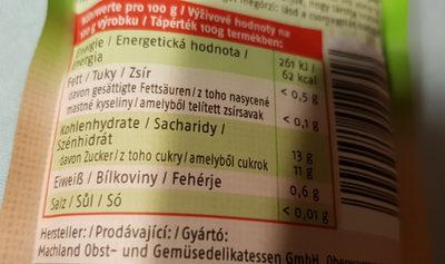 GenussPlus - Voedingswaarden