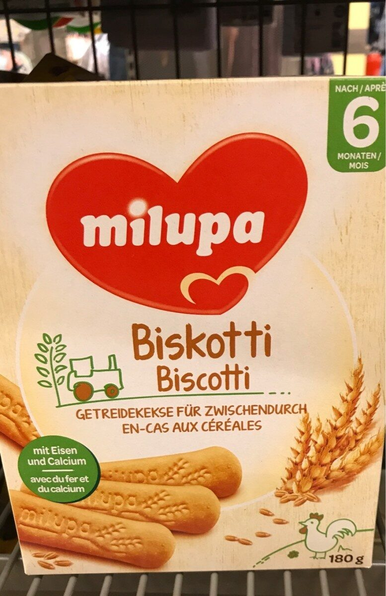 Milupa biscuits - Product - fr