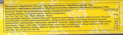 Schoko-Bananen - Nährwertangaben - de