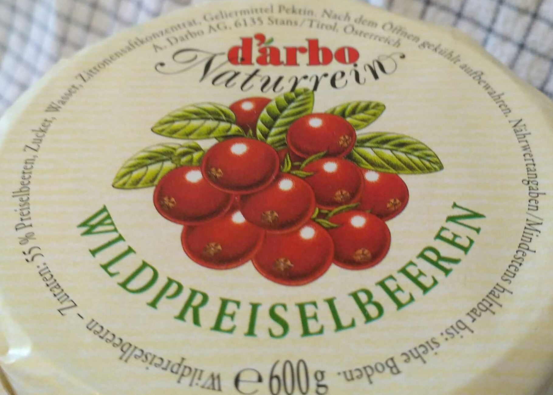 Wildpreiselbeeren - Ingredients