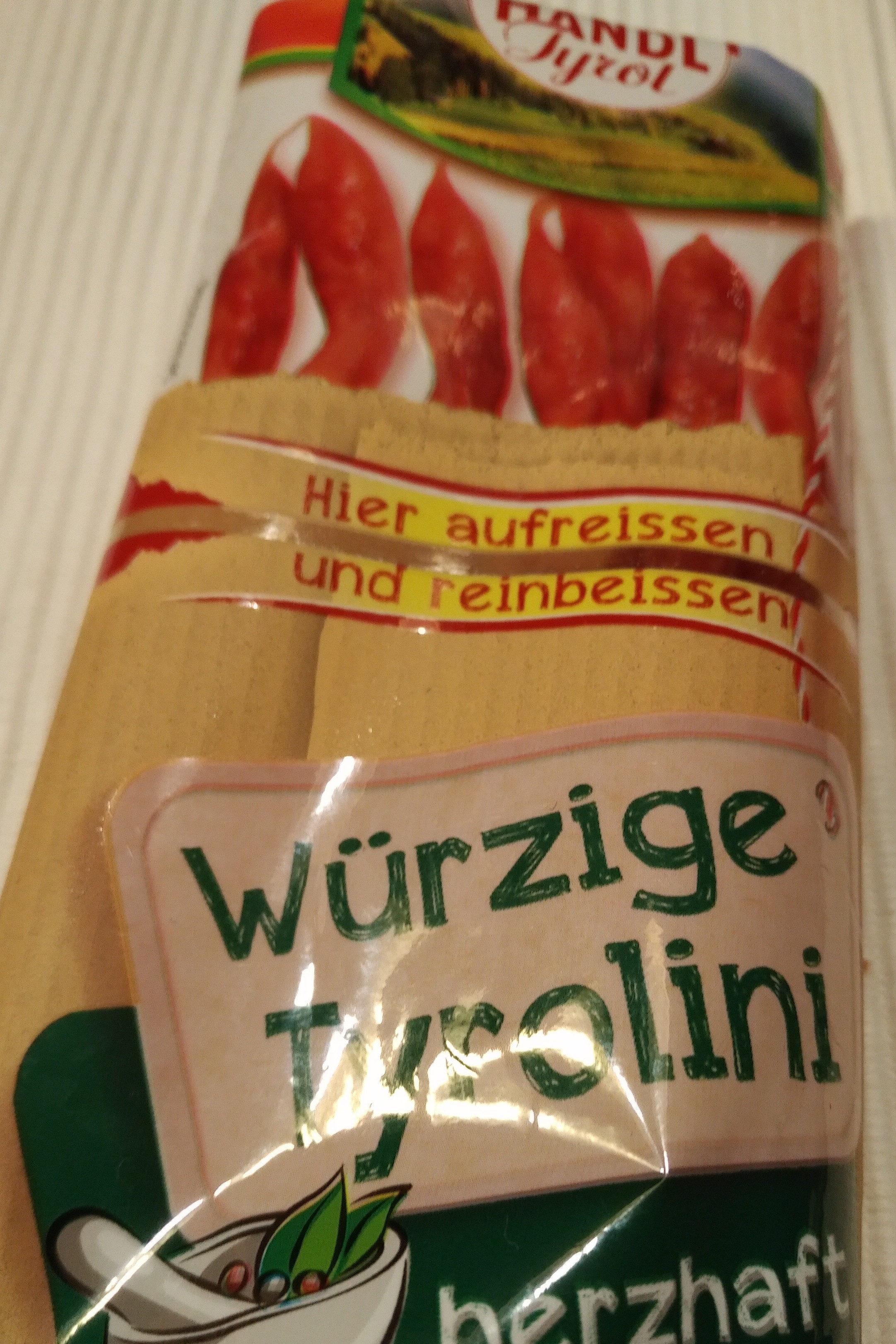 Tyrolini, Würzig - Produkt