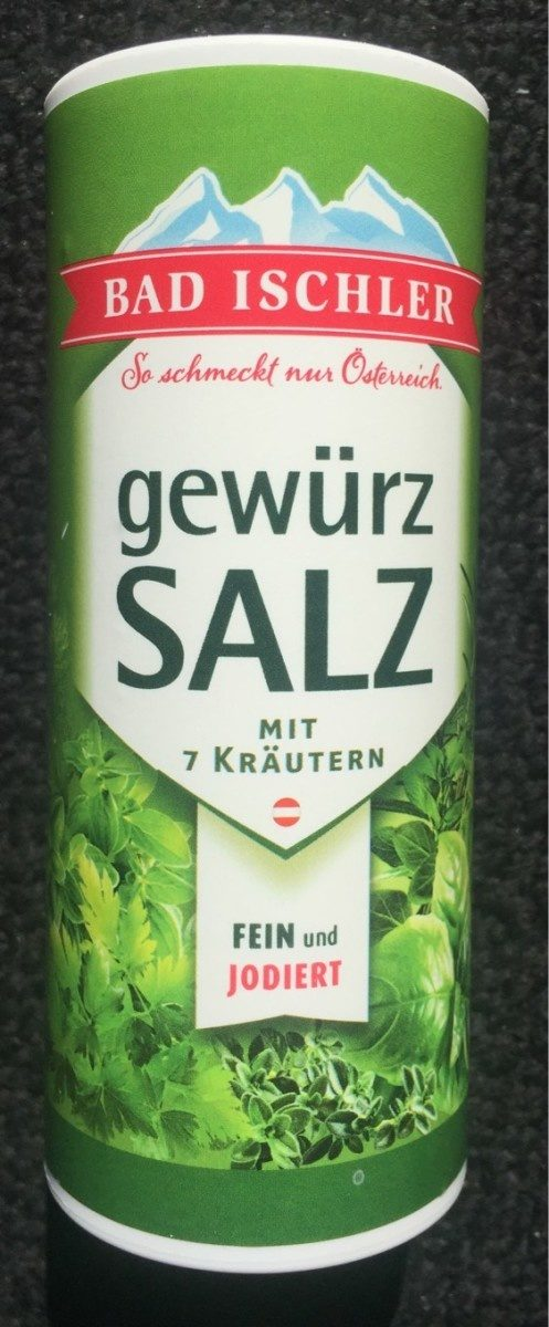 Bad Ischler Gewürzsalz mit 7 Kräutern - Produit