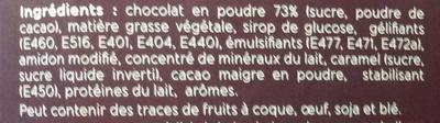 Mousse au chocolat (préparation pour) - Ingrediënten - fr