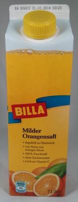 Milder Orangensaft - Product - de