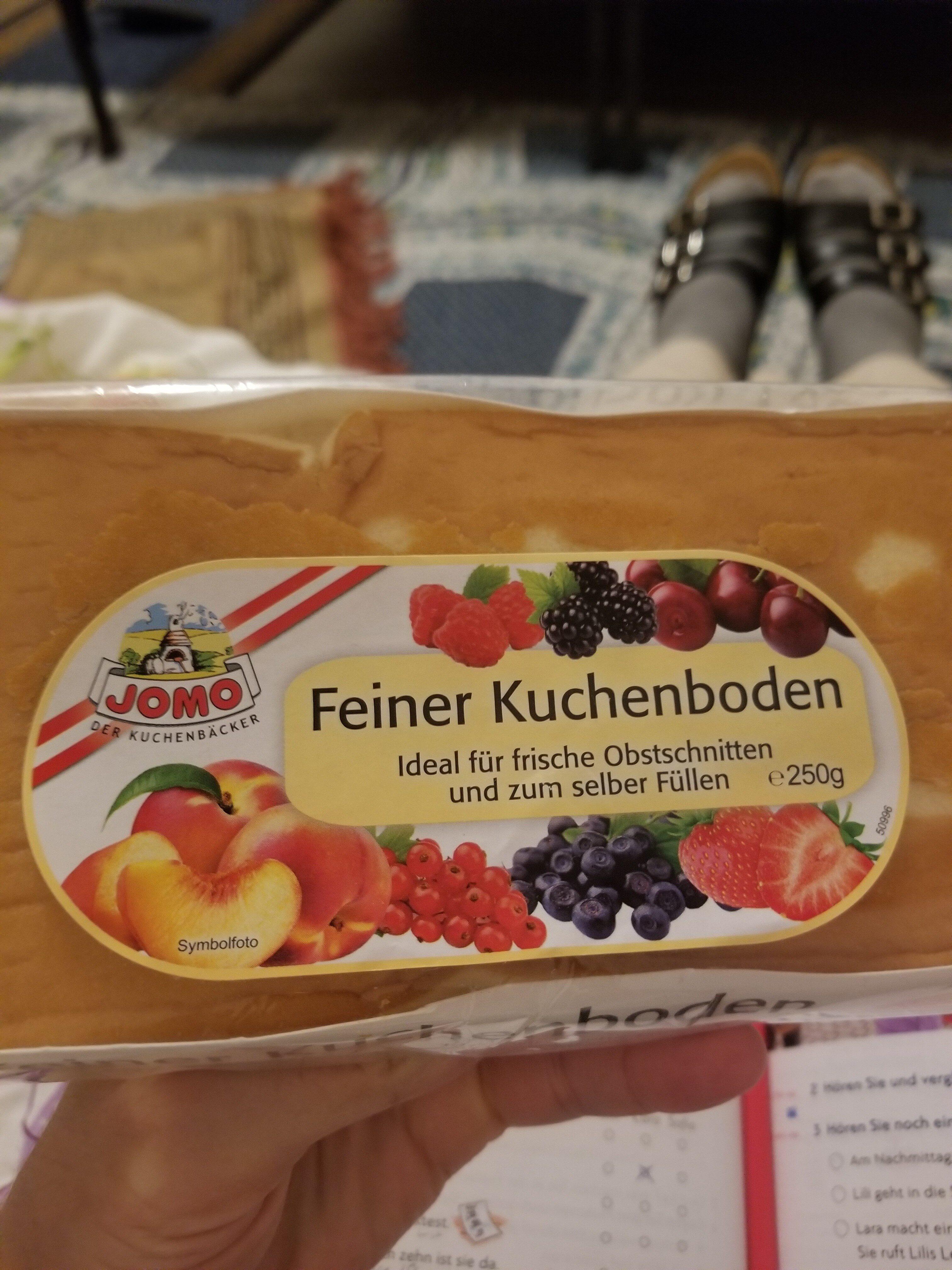 Feiner Kuchenboden - Nutrition facts - de