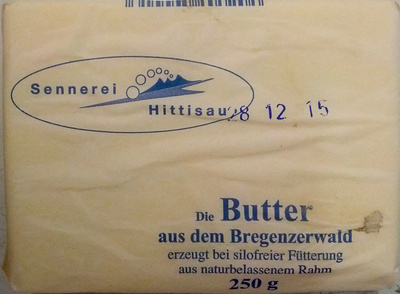 Butter - Produit - de