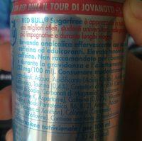 Napój Red Bull Sugarfree 250ML - Ingrediënten - fr