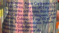 Red Bull Energy Drink - Ingrediënten - es