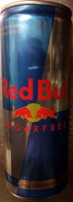 Red Bull Sugarfree - Produit