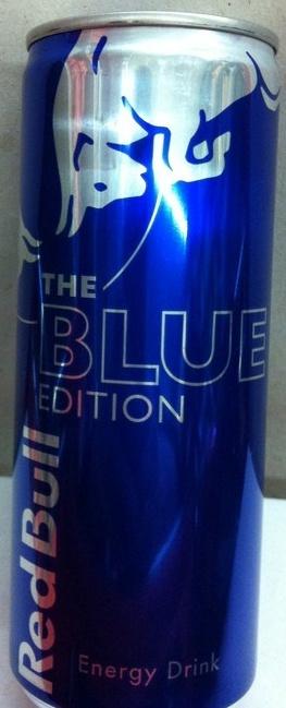 Red Bull Blue Edition - Produit