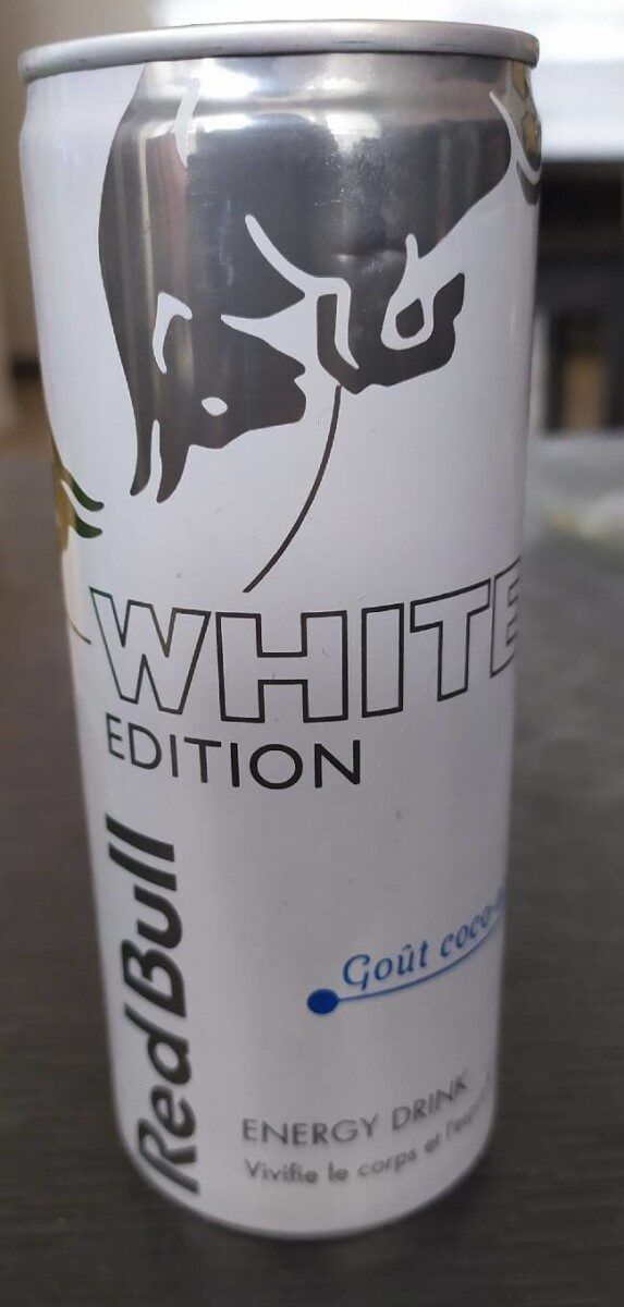 Red bull Coco Açaï White Edition - Produit - fr